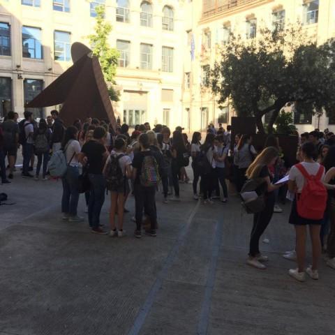Més de 400 alumnes fan les proves d'accés a la Universitat