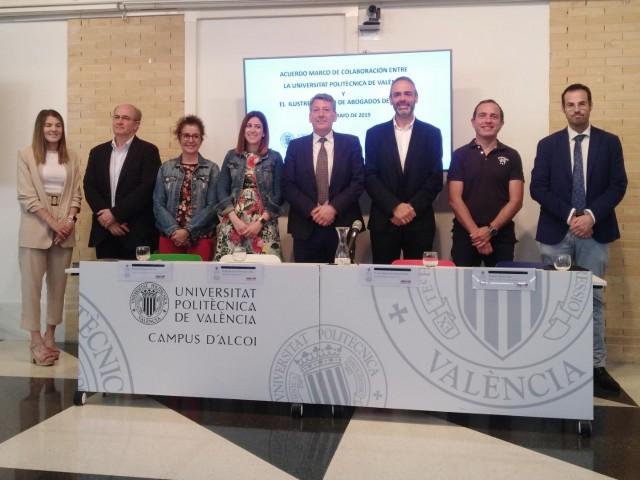 El Campus d'Alcoi de la UPV i el Col·legi d'Advocats d'Alcoi inicien col·laboracions