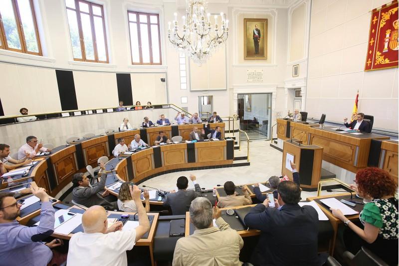 La modificació pressupostària s'ha aprovat en la sessió del ple de la Diputació d'Alacant aquest 23 de maig.