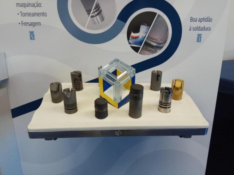 Peces d'escacs elaborades amb tecnologia d'impressió 3D.