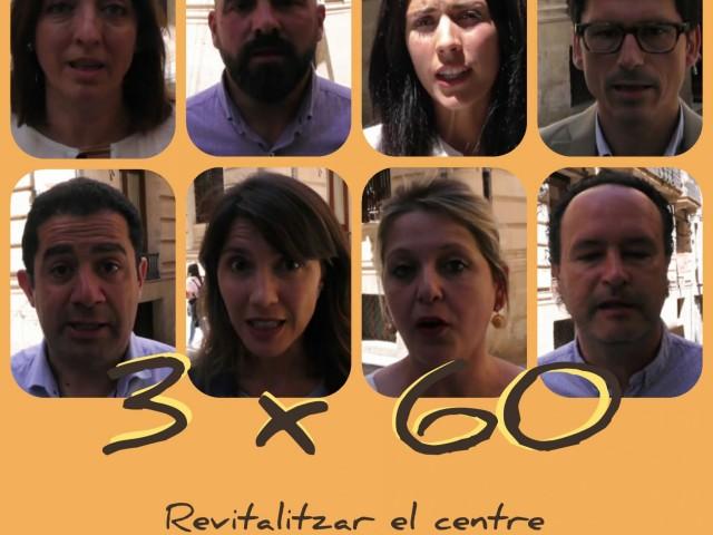 3 x 60: Com revitalitzem el centre?