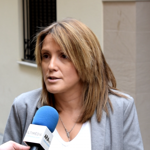 """Vanessa Moltó, membre de la candidatura del PSPV-PSOE: """"Hem triplicat les llicències d'apertura en els últims anys"""""""