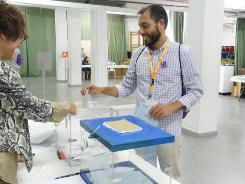 Josep Sempere, candidat de Compromís a Banyeres
