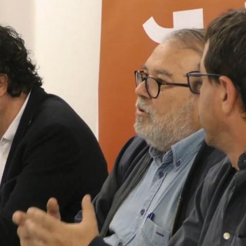 El catedràtic Josep Antoni Ybarra exposa el model econòmic que Compromís vol per a Alcoi