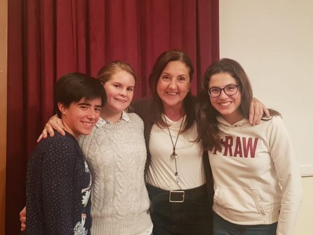 L'alumna de La Salle, EnyaPadgett, guanya la fase provincial delSpeakingContest