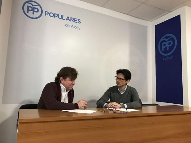 CarlosAracil s'incorpora a les llistes del PP d'Alcoi