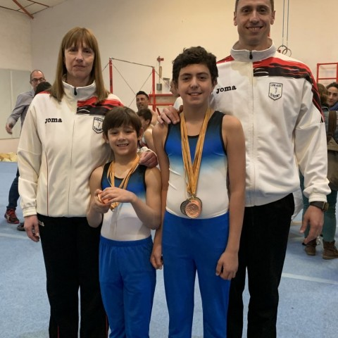 """El Club de Gimnàstica """"El Pastoret"""" obté bons resultats a la competició provincial masculina"""