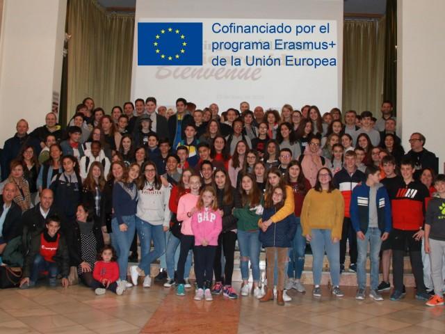 Alumnes europeus coneixeran Alcoi gràcies al seu Erasmus+ amb les Carmelites