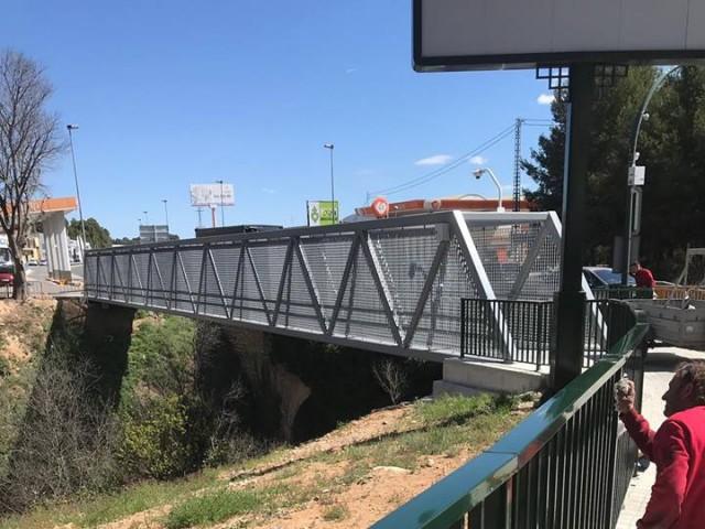 3.000 persones utilitzen cada mes la passarel·la que uneix Alcoi amb Cocentaina