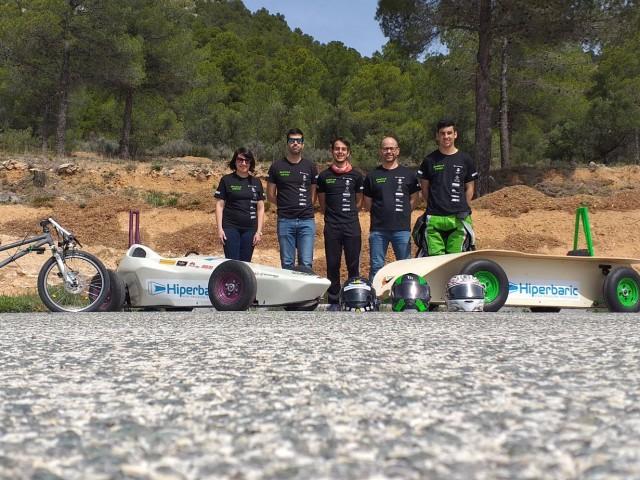 L'IES Cotes Baixes participa en el Campionat Europeu d'Esports d'Inèrciaamb tresvehicles
