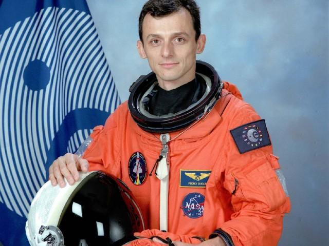 Pedro Duque, el primer astronauta espanyol de la història.