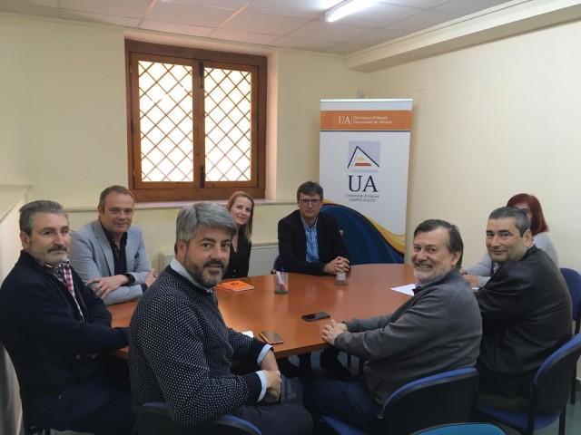 La Cambra de Comerç d'Alcoi i la Universitat d'Alacant comencen projectes en comú