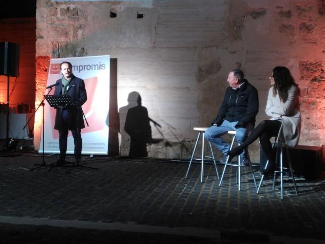 Compromís Alcoi presenta una renovada llista municipal en companyia de la plana major del partit
