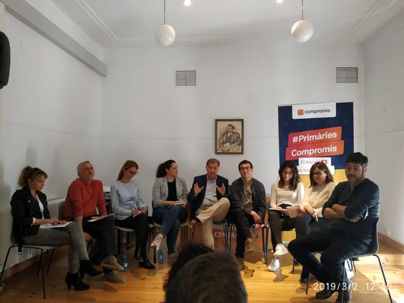 Acte de campanya de primàries Compromís en Alcoi