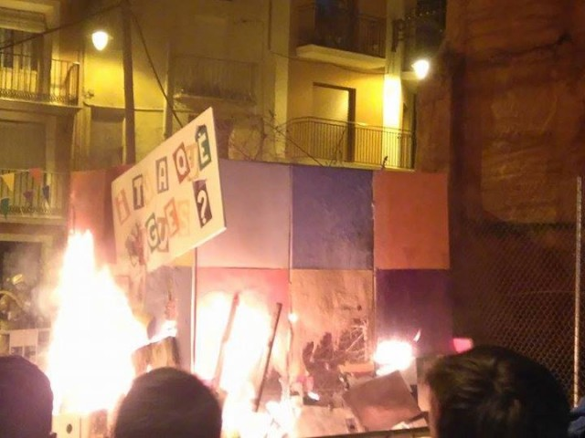 ElBarridel Partidor celebra les seues Falles 2019