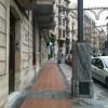 Peus de marbre al carrer Sant Llorenç.