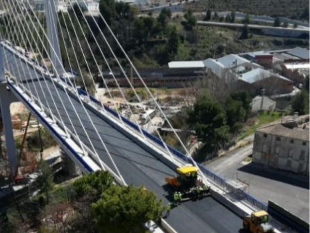 Foto d'arxiu del pont de Fernando Reig.