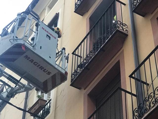 S'origina foc en un habitatge del carrer Sant Josep
