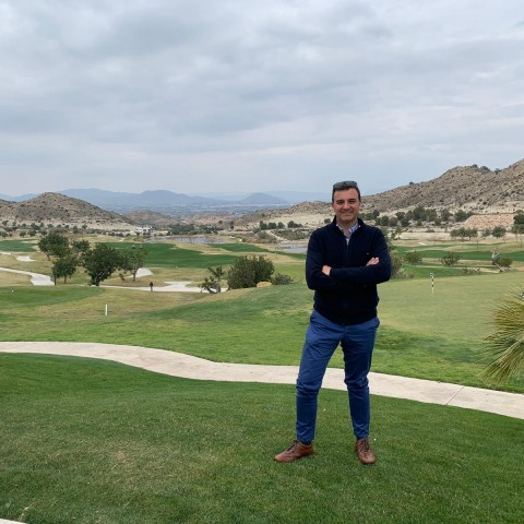 AntonioLlamasguanya el TrofeuFisipede golf local d'Alcoi