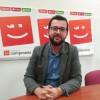 Ignasi Candela al grup municipal de Compromís Alcoi