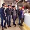 JoséCíscarvisita el Mercat de Sant Roc amb el candidat a l'alcaldia del PP,QuiqueRuiz