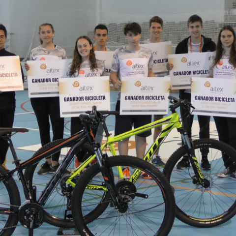 420 alumnes alcoians participen en les Olimpíades d'AITEX