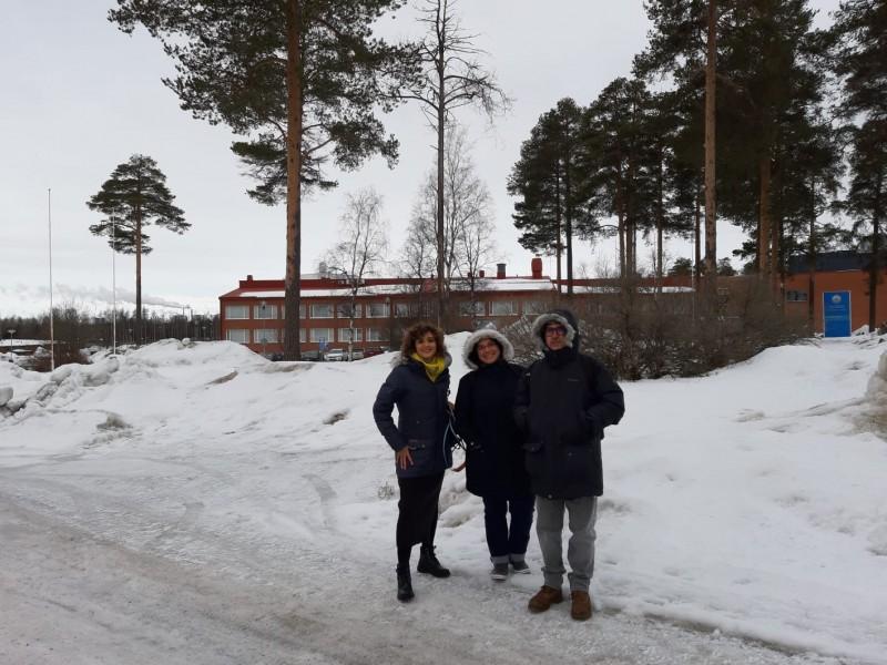 Els professors de Batoi a Oulu