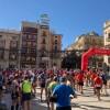 Moments prèvis a l'eixida des de la Plaça d'Espanya / Xarxes socials