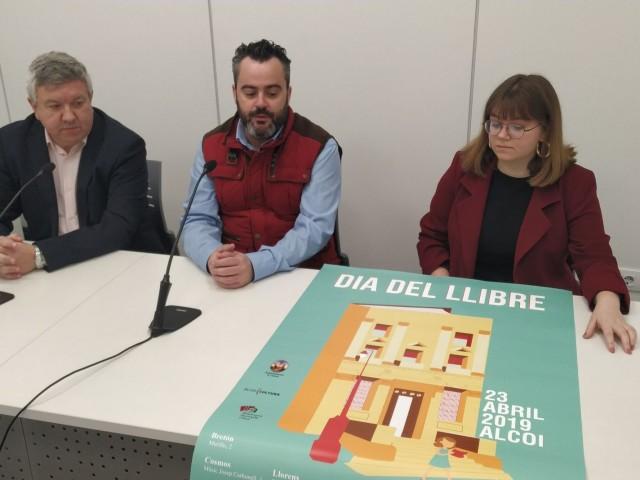 Cas únic: Alcoi celebrarà el dia del Llibre el 23 d'abril