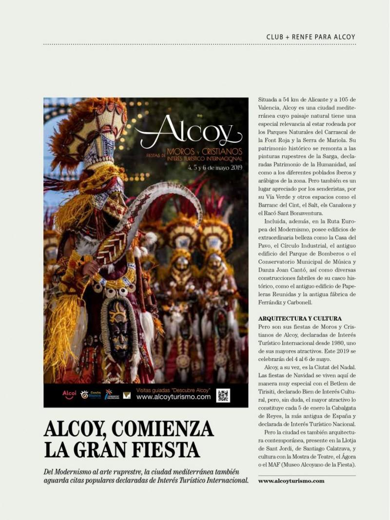 Reportatge a la Revista Club Renfe.