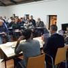 Reunió celebrada al Centre d'Esports, on han assistit els delegats de cada filà.
