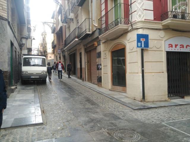Creuament dels carrers Sant Francesc i Sant Maure