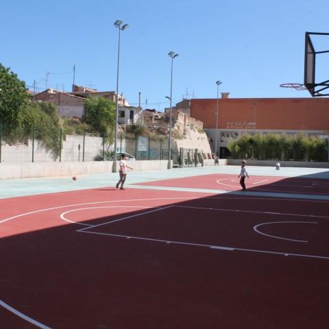 Finalitzen les obres d'adequació de la zona esportiva de la Zona Alta