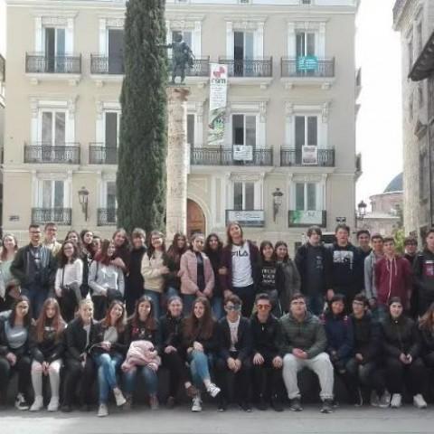 Alumnes de l'IES Pare Arques de Cocentaina visiten València