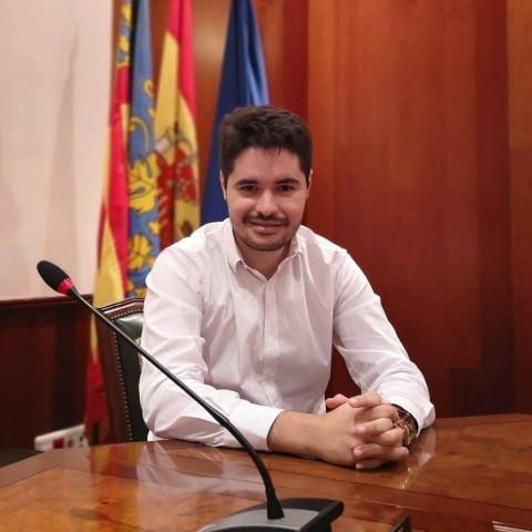 El candidat a l'alcaldia de Cocentaina pel PP, Ray Montava.