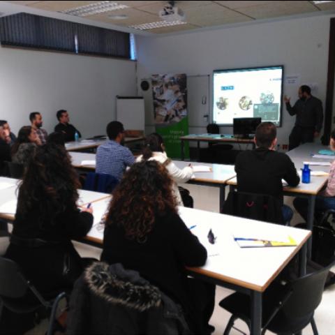 Per a finalitzar el curs s'ha realitzat una visita a les instal·lacions d'ACTECO.