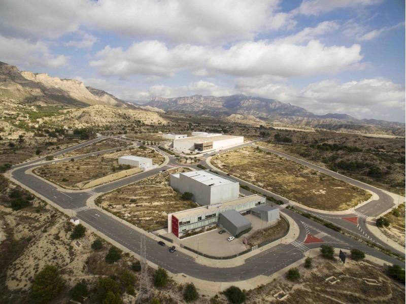 Parc empresarial L'Espartal III / Ajuntament de Xixona