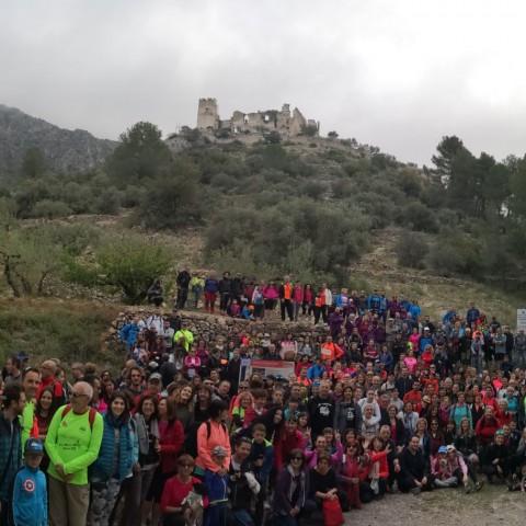 Més de 500 assistents a la Ruta a Peu al Barranc de l'Infern