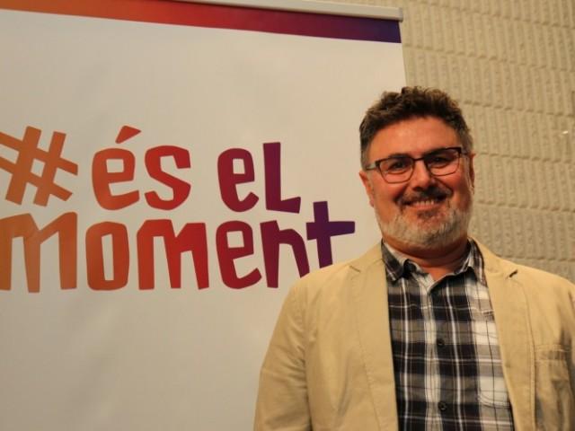 Vicent Molina, candidat de Compromís a l'alcaldia de Muro.