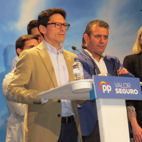 Acte de cloenda de campanya dels populars abans de les eleccions municipals del 2019.