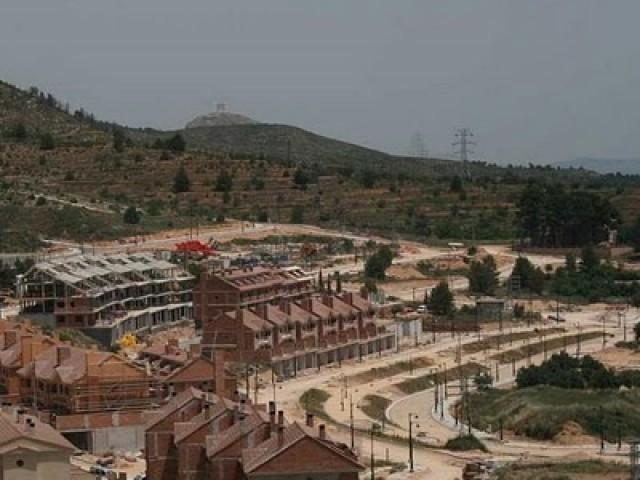 Imatge d'arxiu de la urbanització de Serelles.