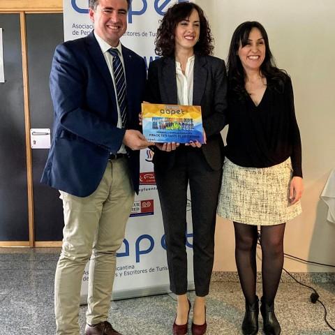 La Fira de Tots Sants rep el premi turístic 'PedroZaragoza'