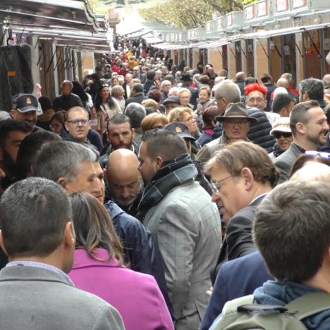 Més de 95.000 persones visiten Xixona per a endur-se torró