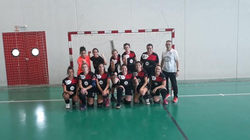 L'equip en el partit davant l'Oliva / C.H. Muro