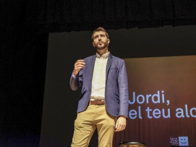 Jordi Pla, portaveu del Col·lectiu 03820-Compromís per Cocentaina.