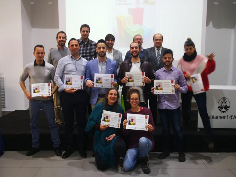 Participants en aquesta 4ª edició d'Activa Àgora.