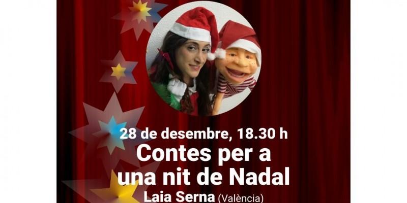 Cartell de 'Contes per a una nit de Nadal' / TicketAlcoi.com