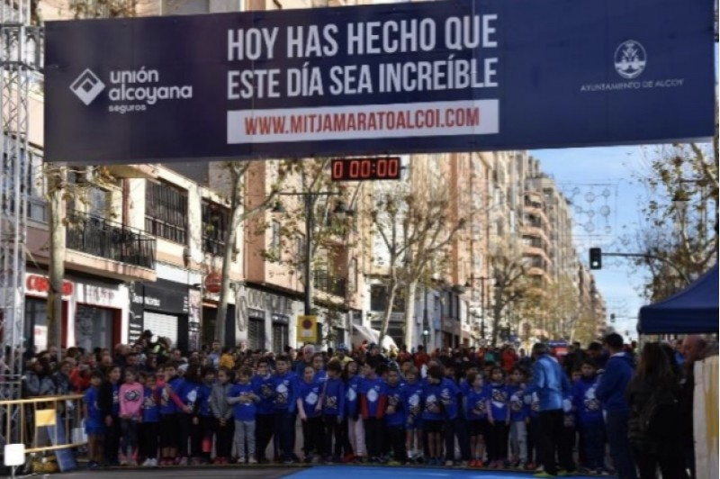 Mitja Marató Unió Alcoyana