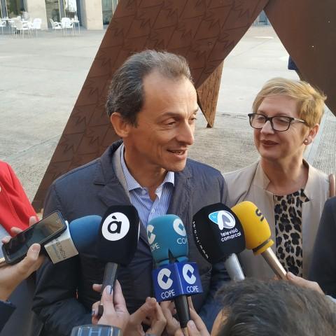 Nova llei orgànica d'Universitats i més inversions enI+D, els compromisos de PedroDuquea Alcoi
