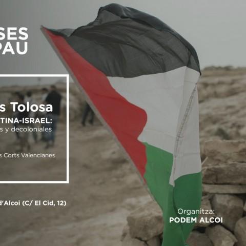 El conflicte palestí-israelià, a debat en una xerrada organitzada per Podem Alcoi